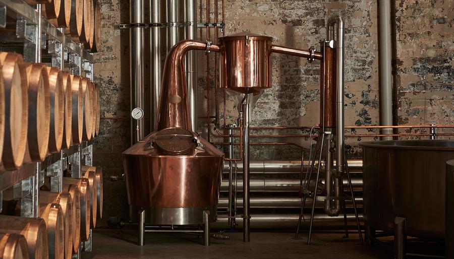 Distillation Process - Archie Rose